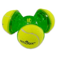 PetLogix Tennis Throw Trio - Medium/Large (14.5cm x 5.5cm)