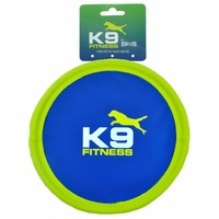 K9 Fitness Tough Nylon Flexi Dog Flyer - 26cm