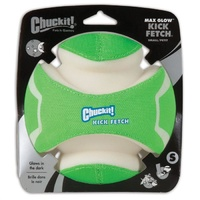 ChuckIt Max Glow Kick Fetch Dog Ball - Small (14cm)
