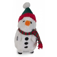 Holiday Heggie Dog Toy - Snowman