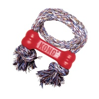 KONG Goodie Bone with Rope - X-Small