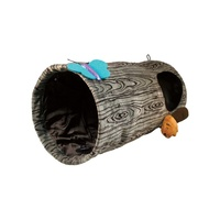 KONG Play Spaces Burrow Cat Tunnel