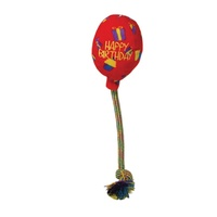 KONG Occasions Birthday Balloon - Red - Medium