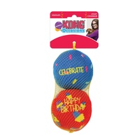 KONG Occasions Birthday Balls - Large - 2 Pack