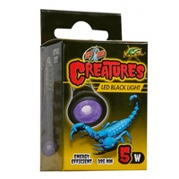 Zoo Med Creatures LED Black Light - 5w