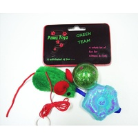 The Green Team Cat Toys - 3 Pack