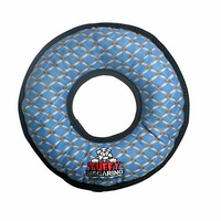 Tuffy Mega Ring Soft Tough Dog Toy - Chain Link