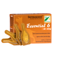 Dermoscent Essential 6 Spot-on for Large Dogs 20-40 kgs - 4 pack