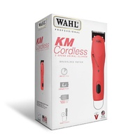 WAHL KM Cordless 2 Speed Pet Clipper - Pink