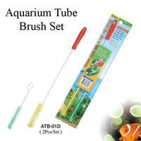 Aquarium Pipe Cleaner Brush set - 2 Pack