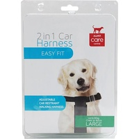 ALLPET 2 in 1 Dog Car Harness - Large - Up to 30kg