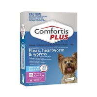 Comfortis PLUS Dogs 2.3-4.5 kgs - 6 Pack - Pink