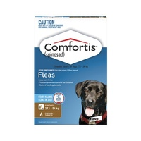 Comfortis Dogs 27.1-54 kgs - 6 Pack - Brown