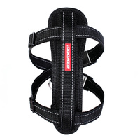 Ezydog Chest Plate Harness - Medium (45-73cm) - Black