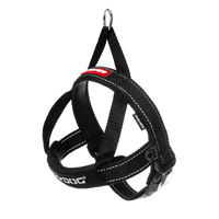 Ezydog Quick Fit Dog Harness - X-Small (38-46cm) - Black