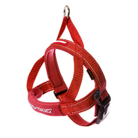 Ezydog Quick Fit Dog Harness - Small (46-55cm) - Red