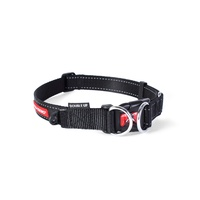 Ezydog Double Up Dog Collar - Medium (29-40cm) - Black