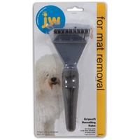 JW GripSoft Dematting Dog Rake