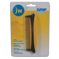 JW GripSoft Rotating Comfort Dog Comb - Medium (13cm)