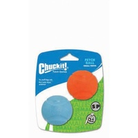 Chuck It Dog Fetch Balls for Launcher - Small/Petite - 2 Pack
