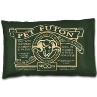 Snooza Futon Dog Bed Original (Large) - Green (80cm x 53cm)