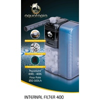 Aquatopia Internal Aquarium Filter 400 - 250-500L/H