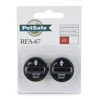 Pet Safe 6V Battery (RFA-67) for Bark Collars - 2 Pack
