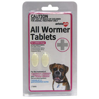 Aristopet All Wormer for Large Dogs - 2 Tablets