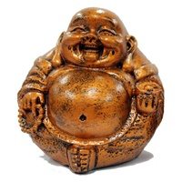 Laughing Buddha with Beads - Small