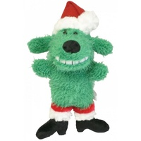 Christmas Loofa Dog Green - Mini (15cm)