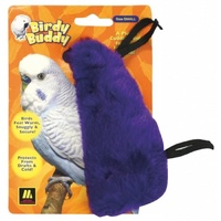 Birdy Buddy Bird Snuggle - Purple - Small (14cm)