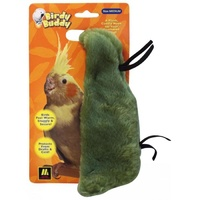 Birdy Buddy Bird Snuggle - Green - Medium (19cm)