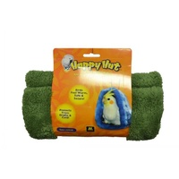 Happy Hut Bird Hideaway Snuggle - Green - Large (29cm)