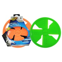 NERF Dog Rubber Flyer - Large (25.4cm) - Orange
