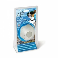 Chill Out Ice Dog Ball - 9cm (White)