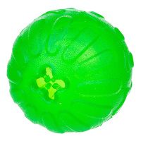 Starmark Dog Treat Dispensing Chew Ball - Medium (7cm)