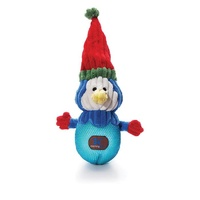 Christmas Snowballs Light Up Dog Toy - Penguin (32cm)