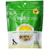 Fruitables Pumpkin & Apple Flavour Dog Treats - 198.5g