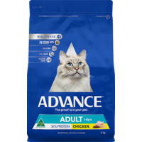 Advance Adult Cat Dry Food - Chicken - 3kg