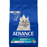 Advance Adult Cat Dry Food - Ocean Fish - 3kg