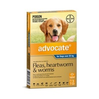 Advocate for Dogs over 25 kgs - 3 Pack - Blue