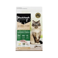 Black Hawk Grain Free Feline Adult Chicken & Turkey - 2.5g
