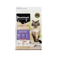 Black Hawk Grain Free Feline Adult Duck & Fish - 2.5kg