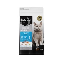 Black Hawk Feline Adult Cat Dry Food - Fish - 1.5kg