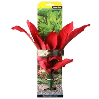 Aqua One Silk Aquarium Plant - Amazon Red - Large (30cm)