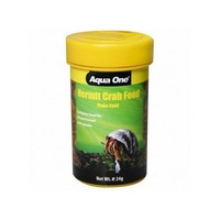 Aqua One Hermit Crab Flake Food - 24g