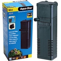 Aqua One Mini 301F Internal Filter - (Up to 15L)