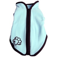 Pet One JumpSuit Fleece Zip Up Dog Coat - 45cm - Blue