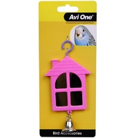 Avi One Bird Toy House Shaped Mirror