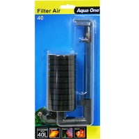 Aqua One Filter Air 40 Aquarium Sponge Filter - Up to 40L